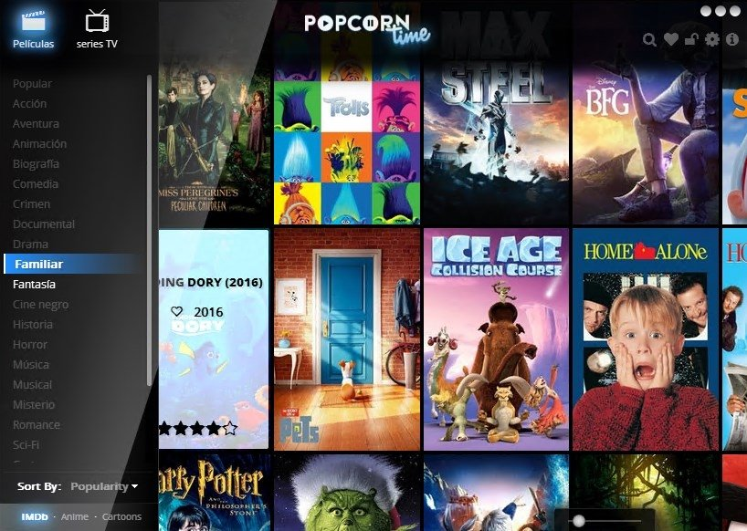 how to watch dowlnoaded from popcorn time