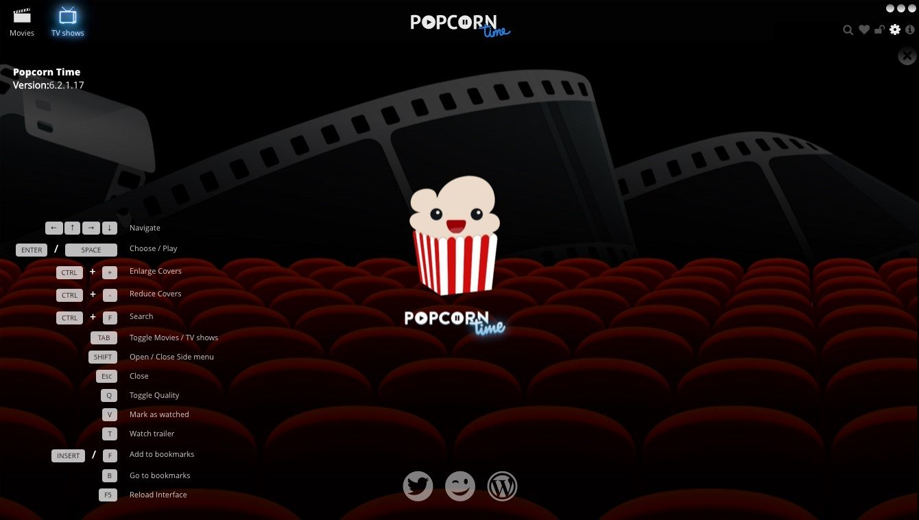 Download Popcorn Time 5.6 Beta Mac - Gratis in Italiano
