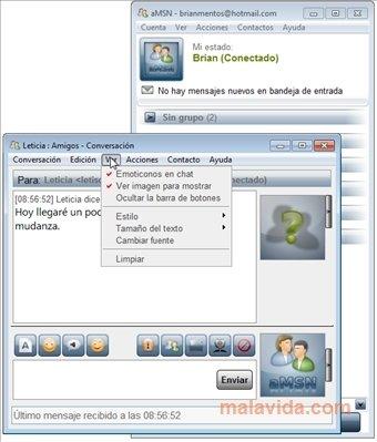 amsn gratuit pour windows 7
