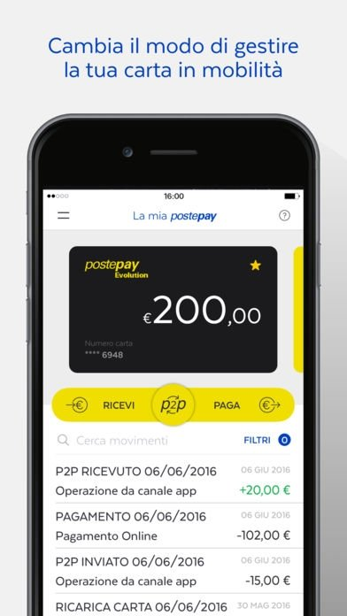 download app postepay evolution