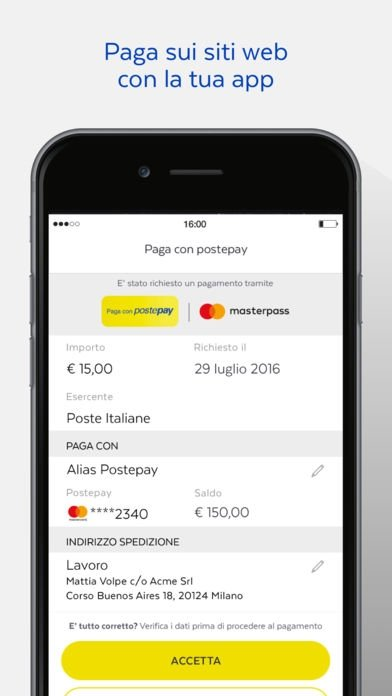 app per postepay evolution