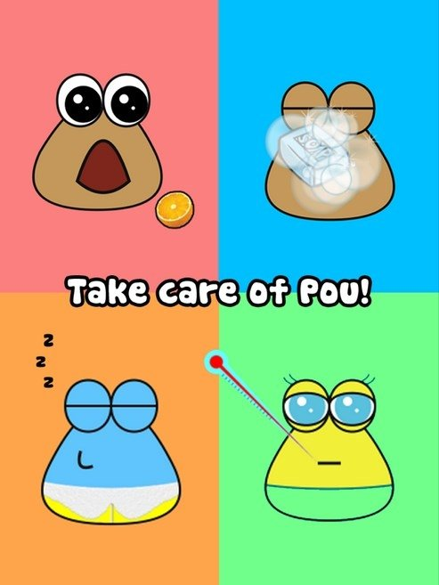 Pou iPhone image 4