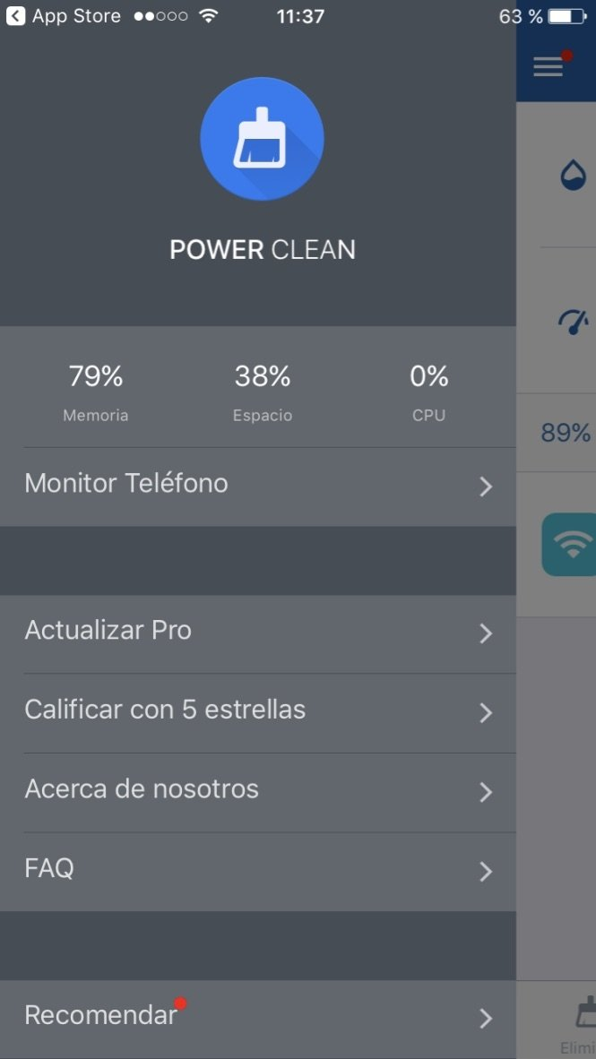 Power Clean iPhone image 6