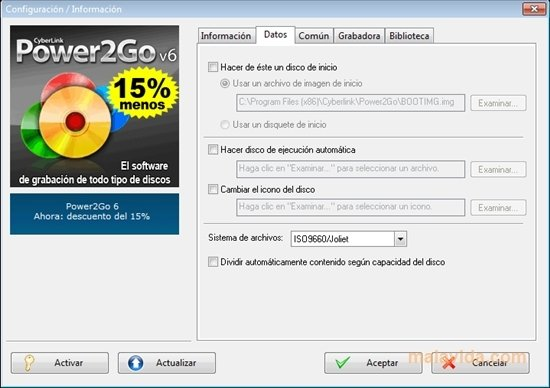 power2go software