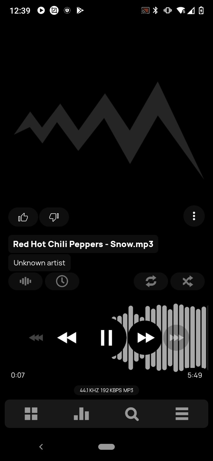 Poweramp Android image 6