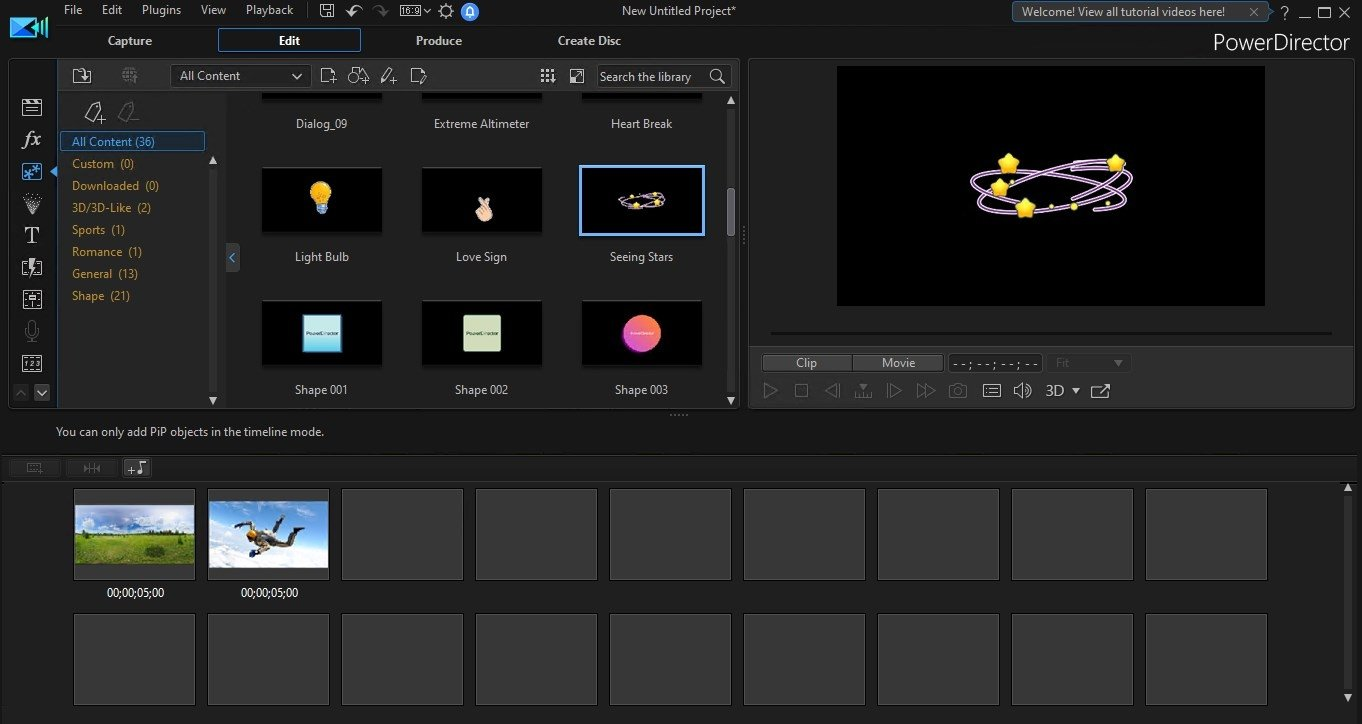 PowerDirector 17 - Download for PC Free