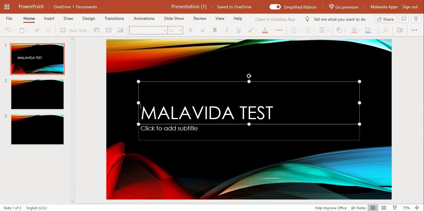 PowerPoint Online Webapps image 8
