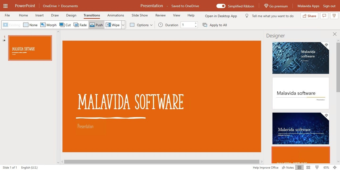 powerpoint online english free