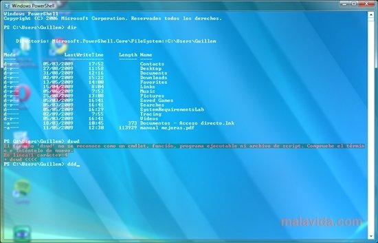 Powershell Glass 1 2 - Download for PC Free