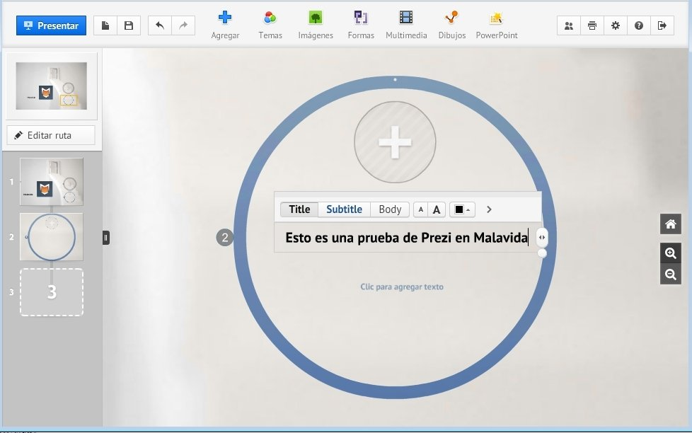 Prezi 6 26 0 - Download for PC Free