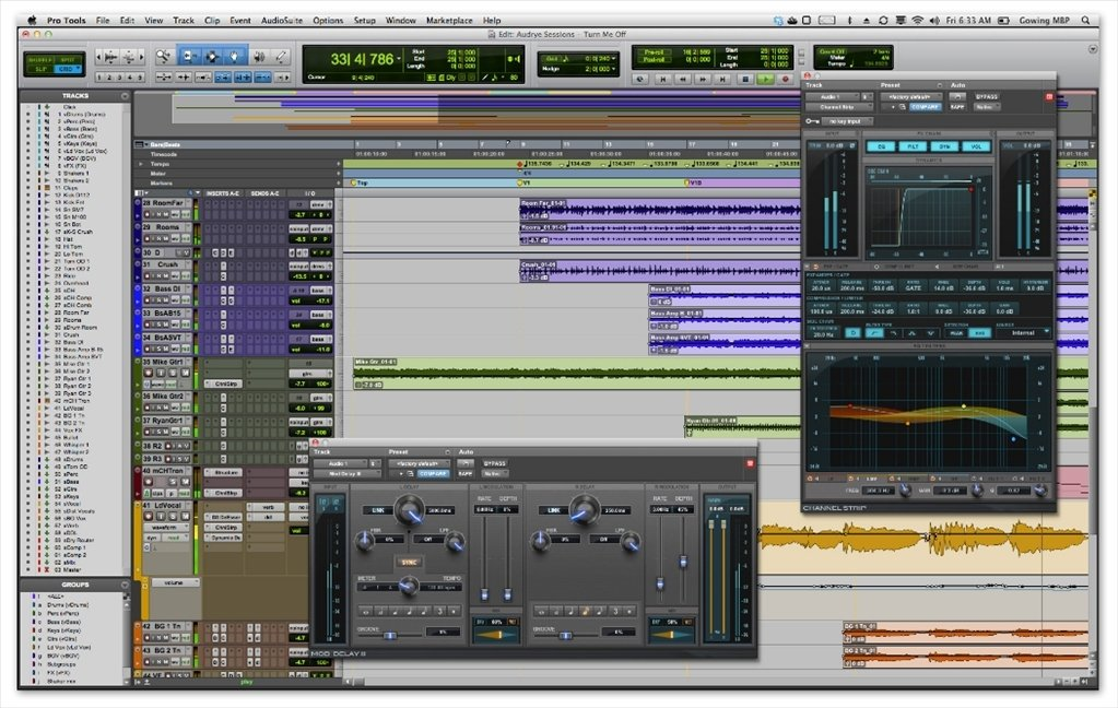 download pro tools mac os x