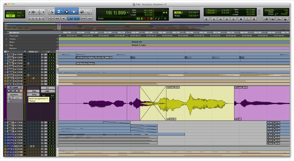 Pro Tools 2018 12 - Download for Mac Free