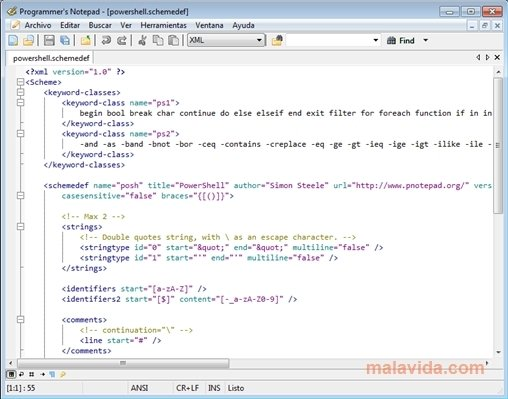 Programmer's Notepad 2 4 2 - Download for PC Free