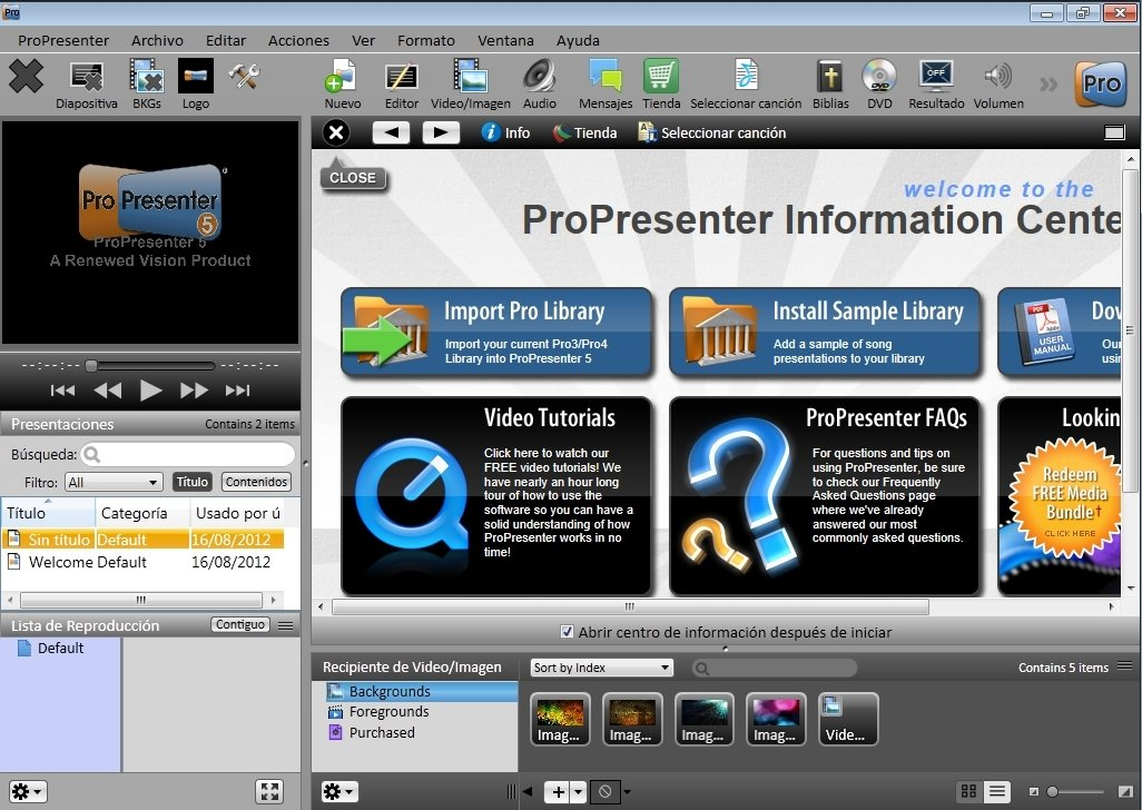 ProPresenter 6 1 5 2 - Download for PC Free