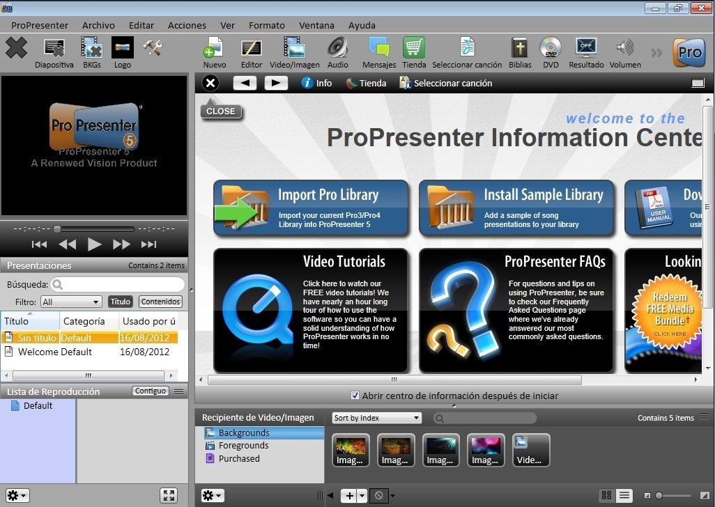 ProPresenter 5.2.3.0