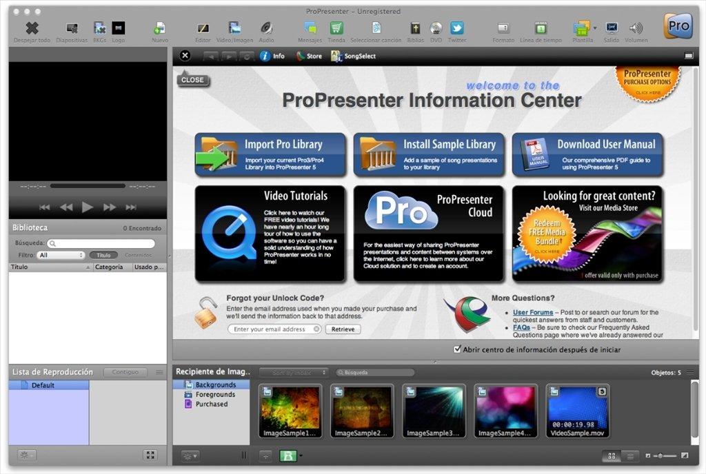 ProPresenter Mac image 8