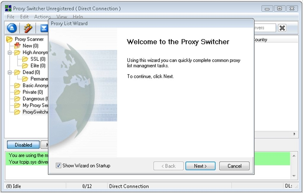 download proxy
