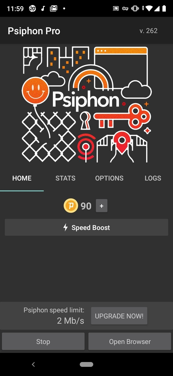 Psiphon Android image 4