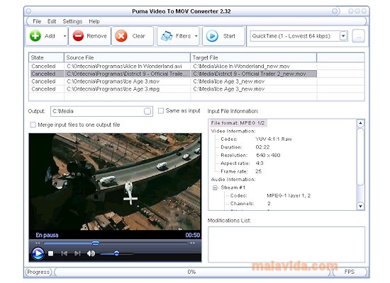 Puma Video To MOV Converter image 3