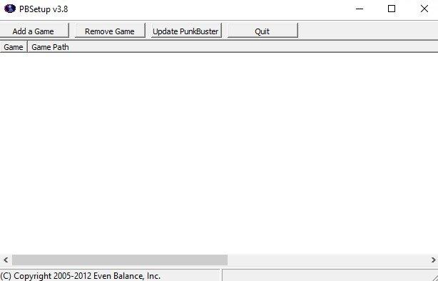 punkbuster client download
