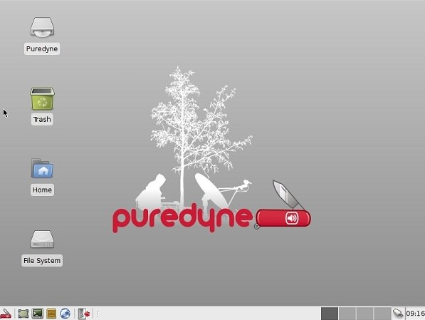 Puredyne Linux image 4