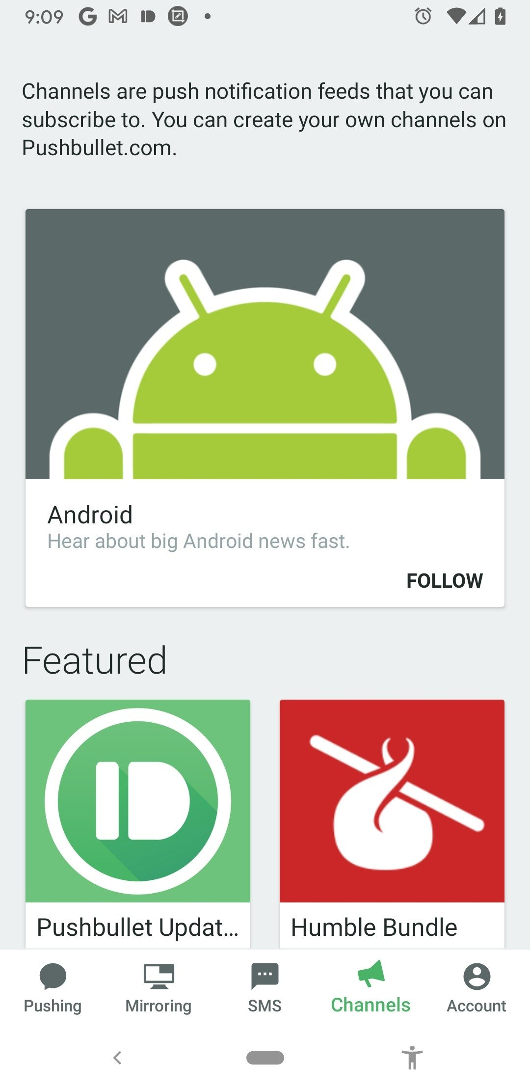 Pushbullet 18 2 18 - Download for Android APK Free