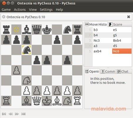 PyChess Linux image 4