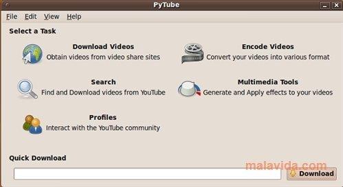 PyTube Linux image 4