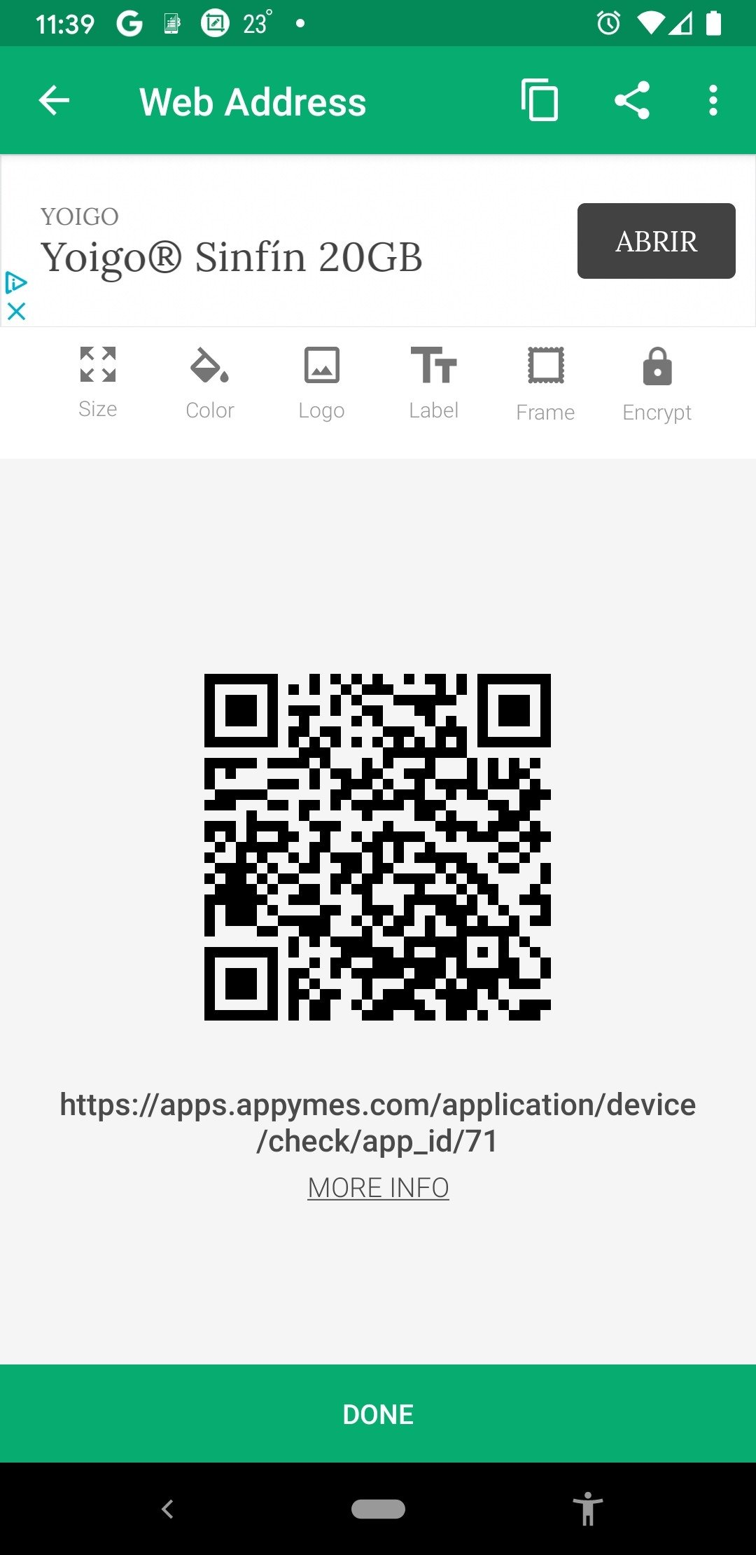 QR Droid Android image 8