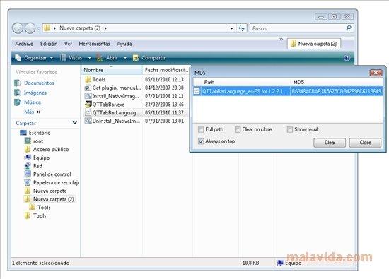 Download QT TabBar 1.2.2.1 for PC - Free ... QT TabBar image 4 Thumbnail