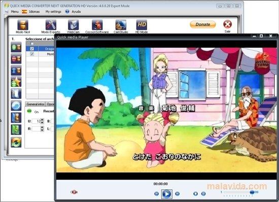 Quick Media Converter image 4