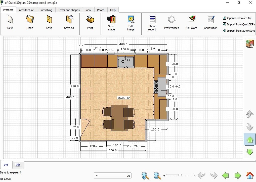 Quick3DPlan DS 8.00.0000 - Descargar para PC Gratis