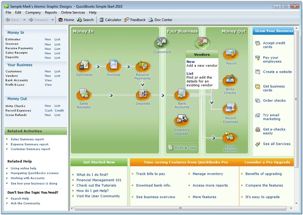 QuickBooks Simple Start image 6