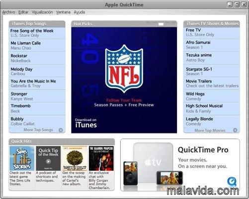 quicktime pro for windows 7 64 bit