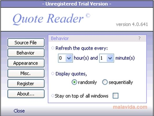 Quote Reader 4 0 641 Download Per Pc Gratis