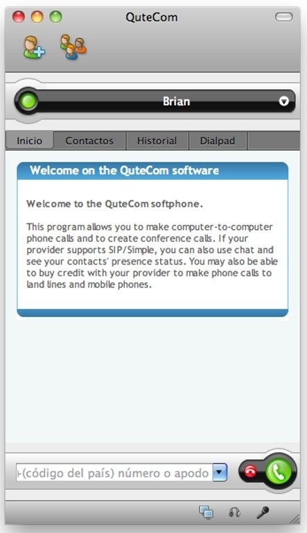 QuteCom Mac image 5