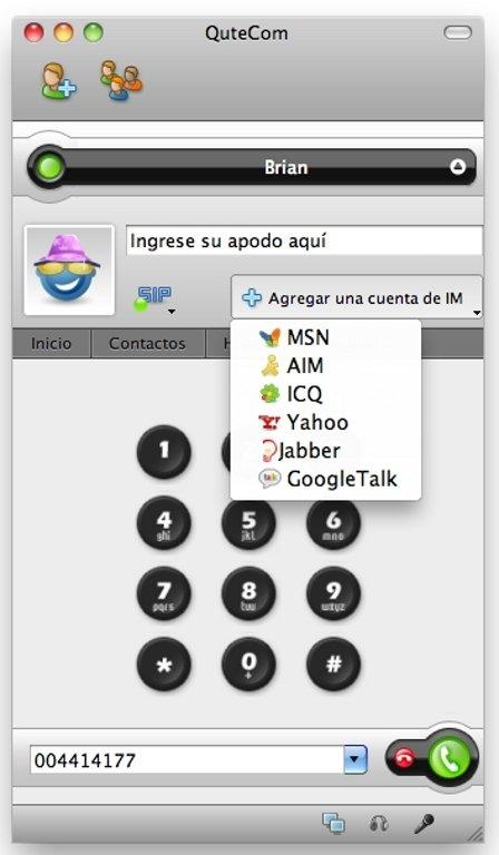 QuteCom 2 2 1 - Download for Mac Free