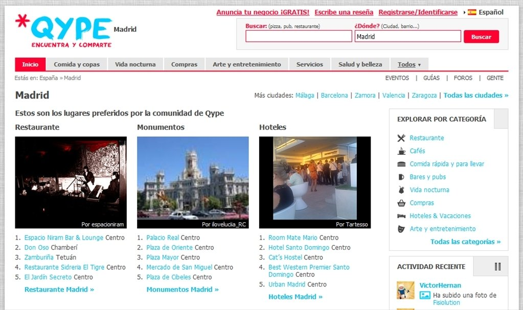 Qype Webapps image 6