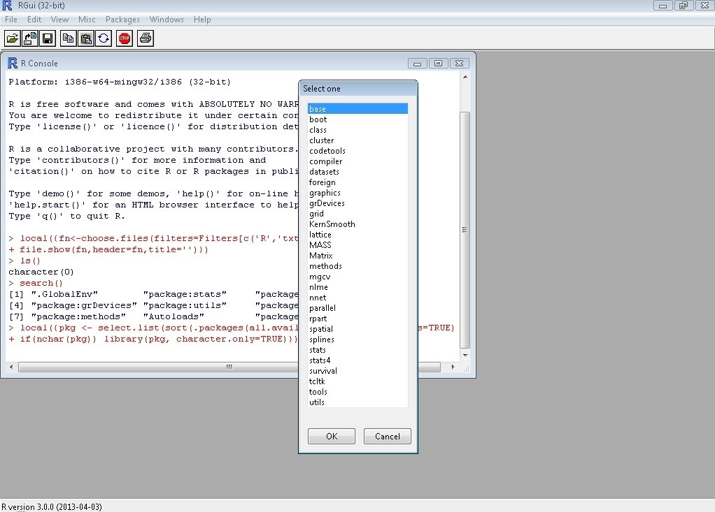 R-project 3.6.1 - Download for...