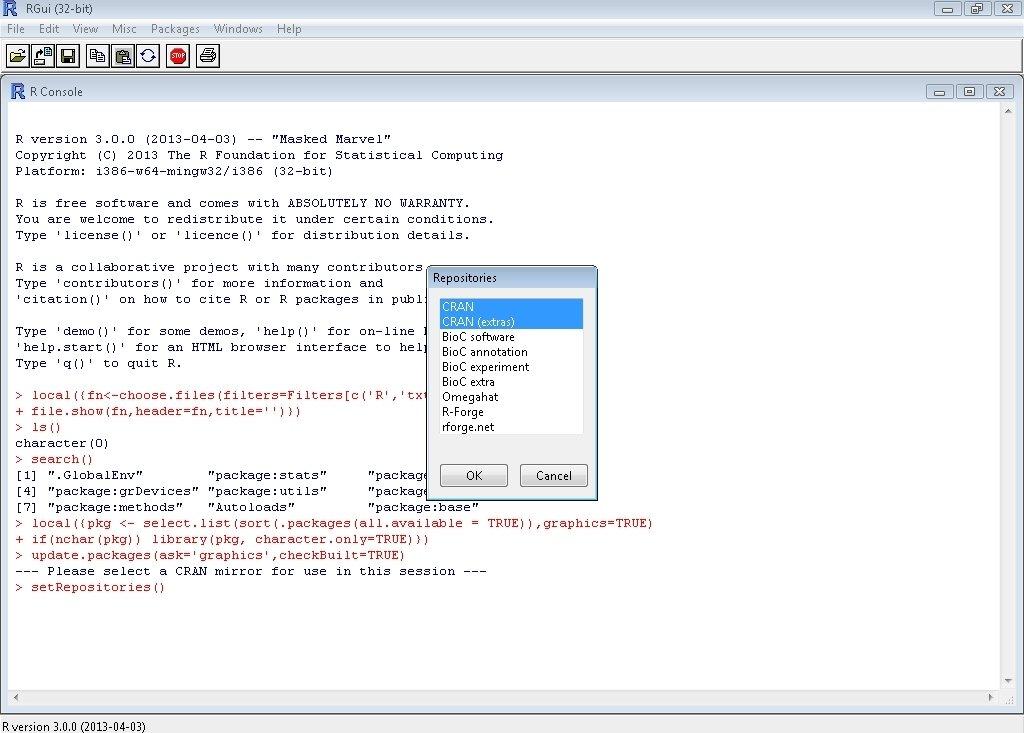 R-project 3.0.0 - PC用ダウンロ...