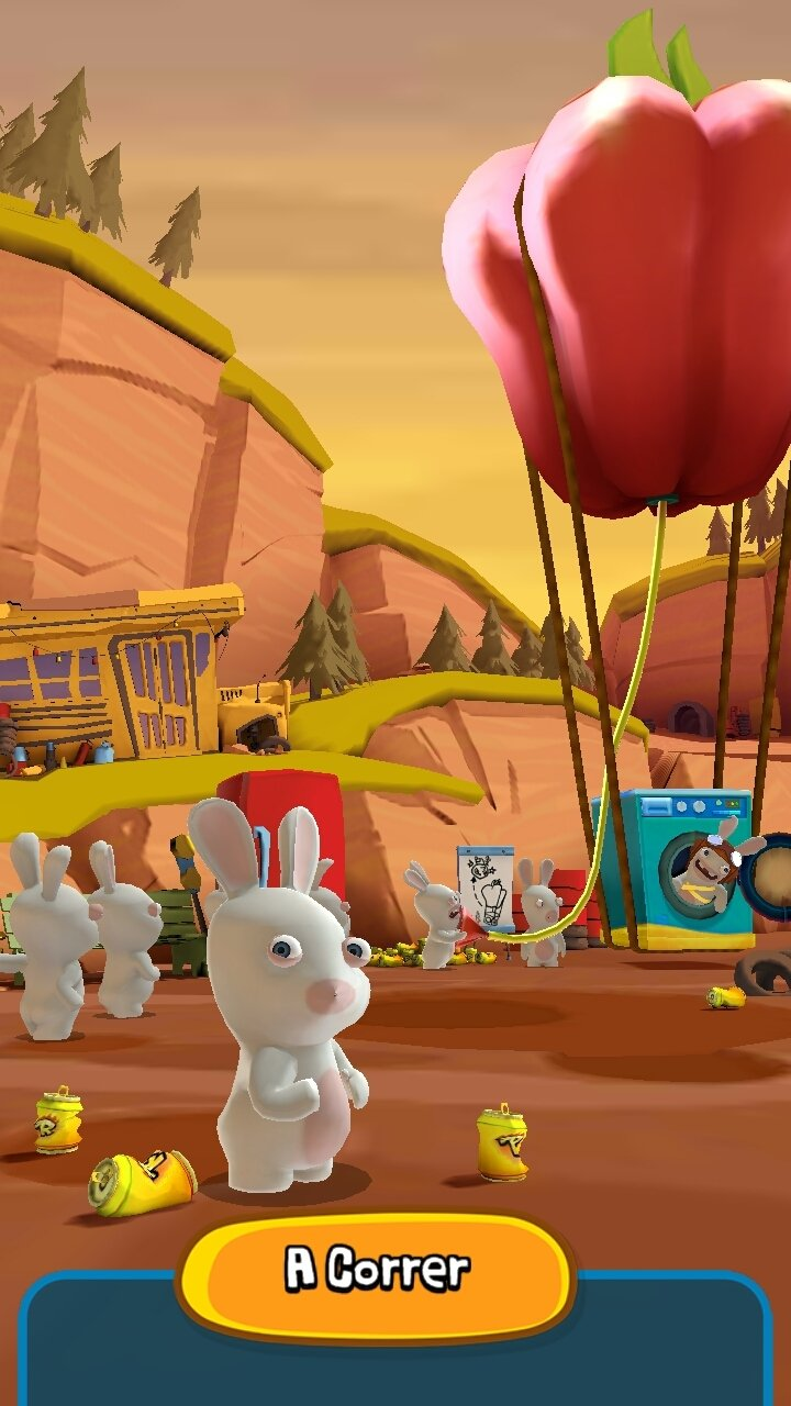 Rabbids Crazy Rush Android image 8
