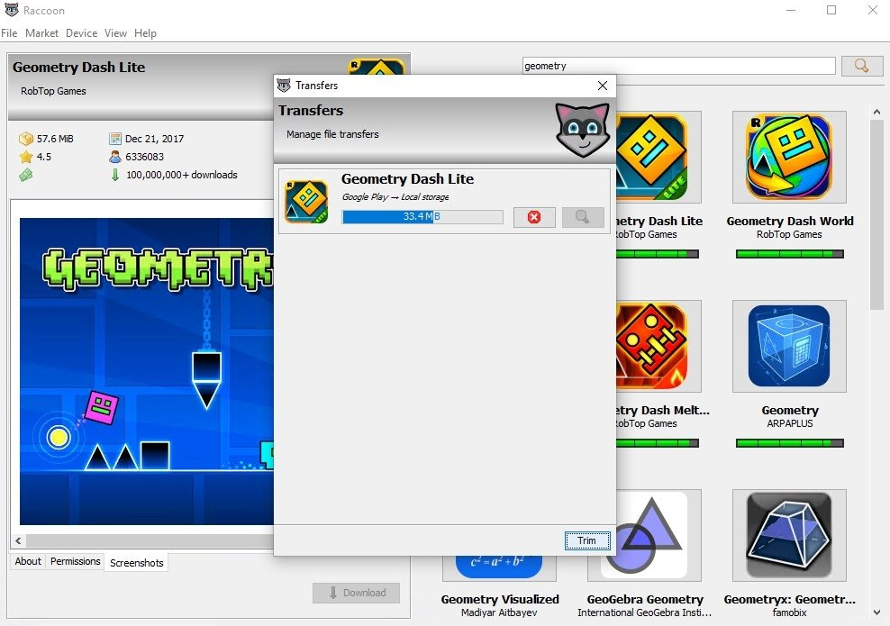 Raccoon 4 8 0 - Download for PC Free