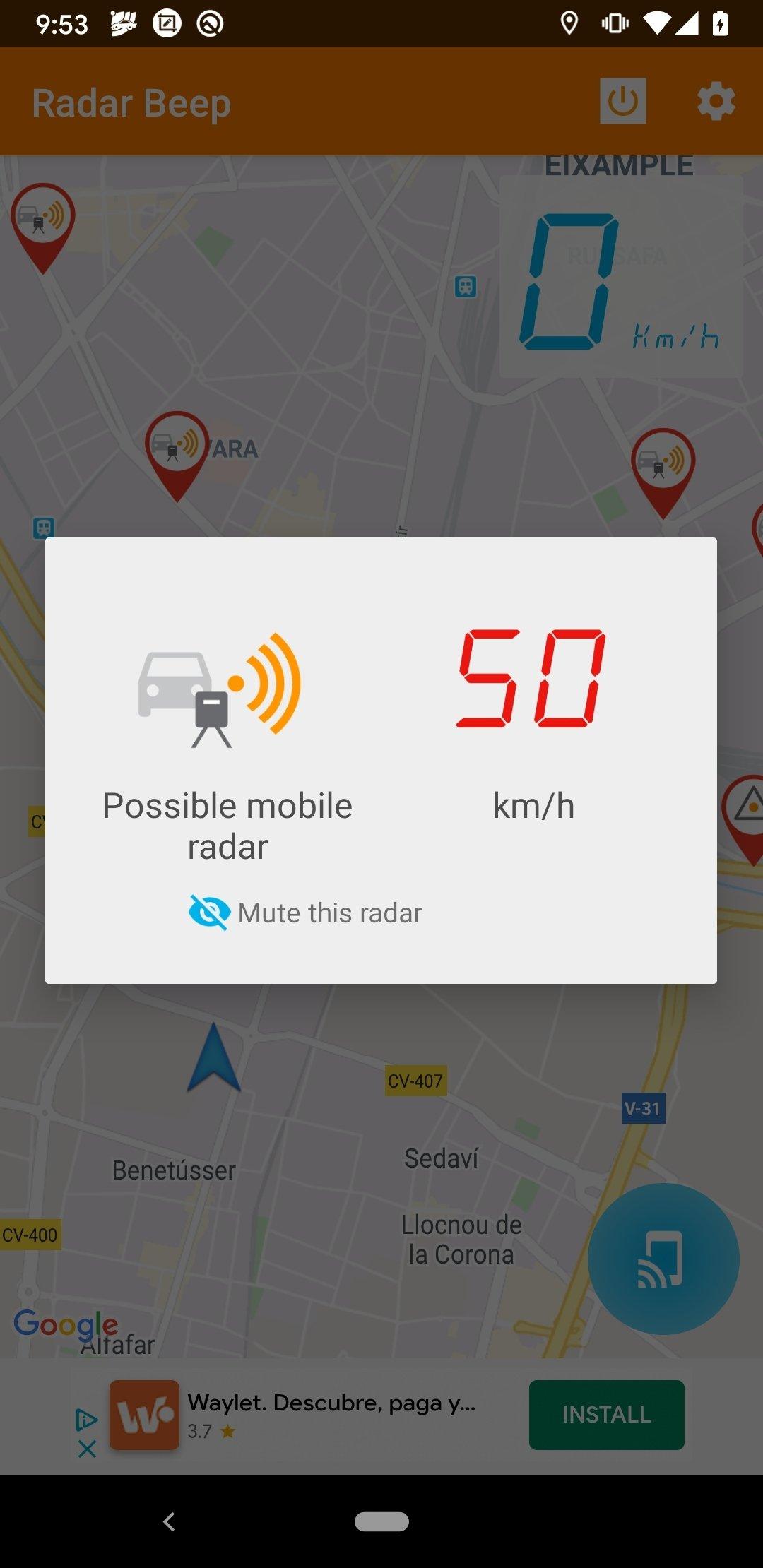 radar beep gratuit