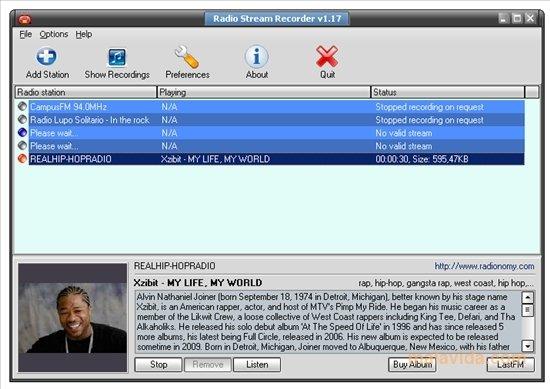 Radio Stream Recorder image 4