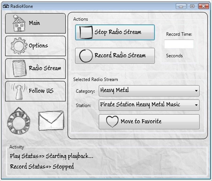 RadioKlone - Download for PC Free
