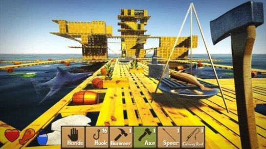 Raft Survival Simulator iPhone image 5