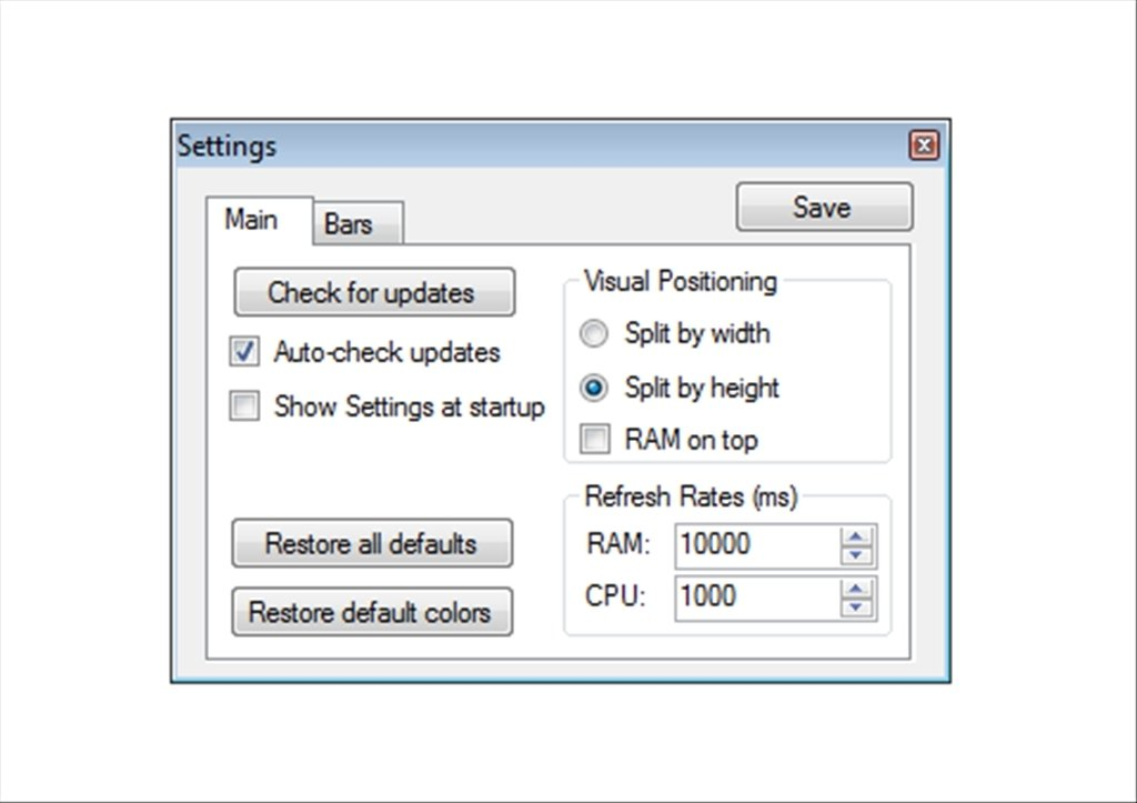RAM CPU Taskbar image 2