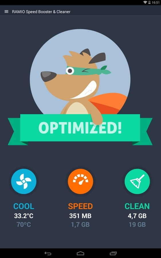 RAMIO Speed Booster & Cleaner Android image 5