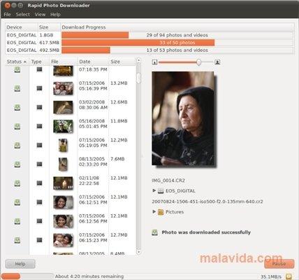 Rapid Photo Downloader Linux image 4