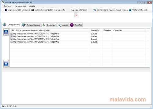 Rapidshare Auto Downloader image 4